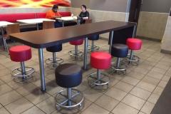 McD Bealeton Va stools after pic